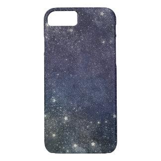 Sternenklare sternenklare Nacht iPhone 7 Hülle