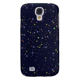 sternenklarer nächtlicher Himmel Galaxy S4 Hülle