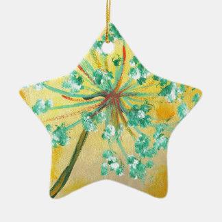 Sternexplosion Keramik Ornament