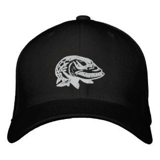Sticken Sie wütende moschusartige Logo Bestickte Kappe