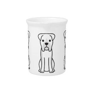 Stier-Boxer-HundeCartoon Getränke Krüge