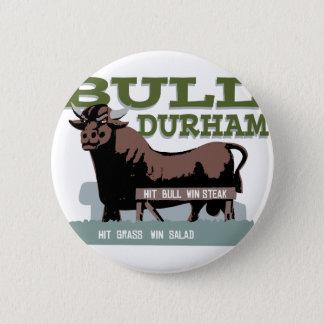 Stier Durham Runder Button 5,7 Cm