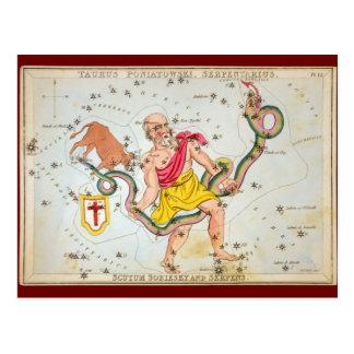 Stier Poniatowski, Serpentarius, usw. Postkarten