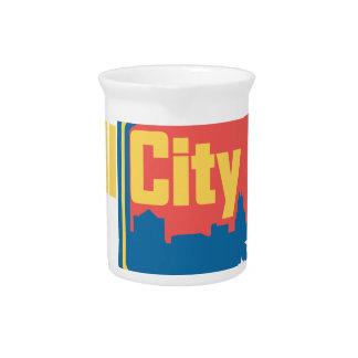 Stier-Stadt NC Getränke Pitcher