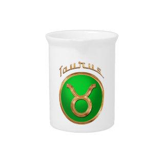 Stier-Tierkreis-Symbol Getränke Pitcher