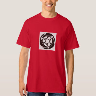 Stilisierter Rabe T-Shirt