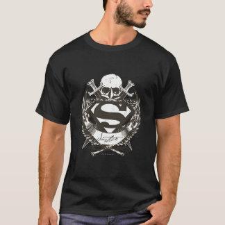 Stilisiertes   Gerechtigkeits-Logo des Supermann- T-Shirt