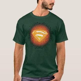 Stilisiertes | Knistern-Logo des Supermann- T-Shirt