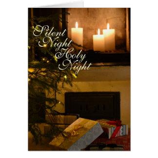 """""""Stille Nachtheilige Nacht"""" geliebtes Weihnachten Karte"""