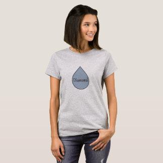 Stillendes Preist-shirt des Diamanten. 2 Jahre T-Shirt
