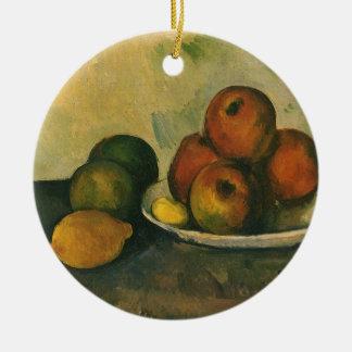 Stillleben mit Äpfeln durch Paul Cezanne Keramik Ornament