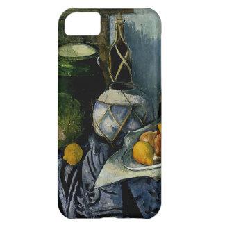 Stillleben mit einem Ingwer-Glas und Auberginen iPhone 5C Hülle