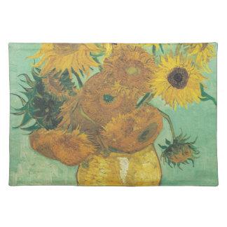 Stillleben: Sonnenblumen - Vincent van Gogh Stofftischset