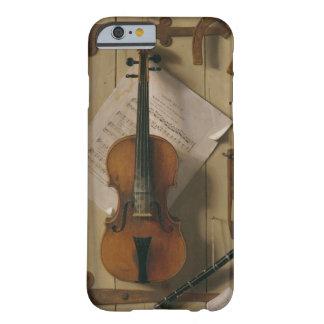 Stillleben, Violine und Musik Barely There iPhone 6 Hülle