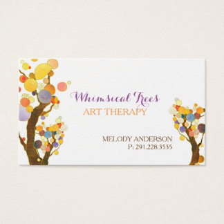 Stilvolle Baum-Therapeut-Termin-Karten Visitenkarte