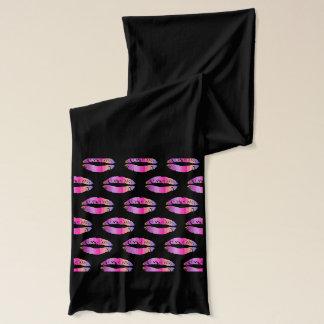 Stilvolle Lippen #11 Schal
