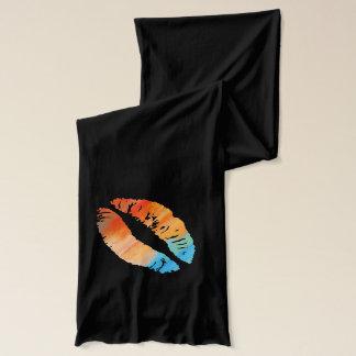 Stilvolle Lippen #7 Schal