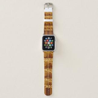 Stilvolle Unendlichkeits-afrikanische Apple Watch Armband