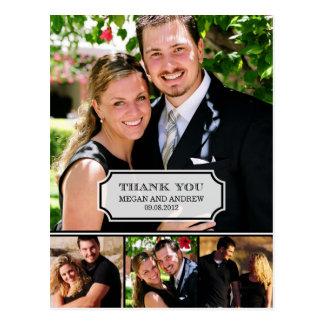 Stilvolle Vorsprungs-Hochzeit danken Ihnen zu Postkarten