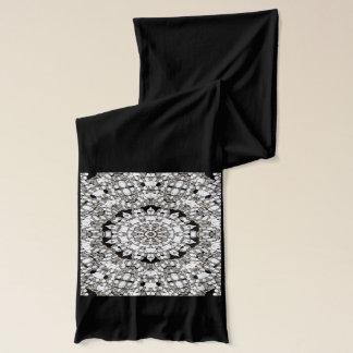 Stilvoller Diamant-Gruppe Bling Schal