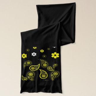 Stilvoller Paisley-Blumen-Schal Schal