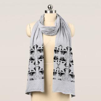 Stilvoller Schäferhund-Hundemuster-Jersey-Schal Schal