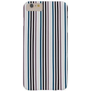 Stilvoller Streifen iPhone Fall im neutralen Ton Barely There iPhone 6 Plus Hülle