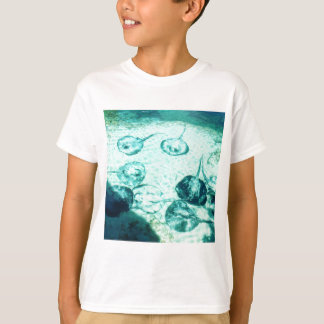 Sting-Strahlen in Xcaret - Mexiko T-Shirt