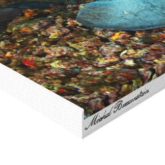 Stingray 2 - Leinwand Galerie Faltleinwand