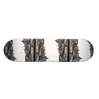 Stockholm-Ansicht Bedrucktes Skateboard