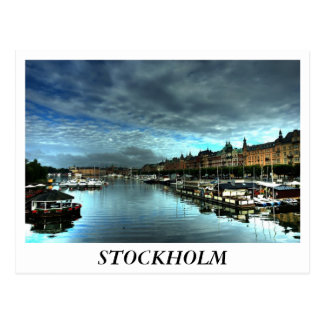 Stockholm Postkarte