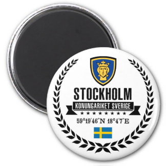Stockholm Runder Magnet 5,7 Cm