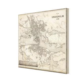 Stockholm, Schweden Gespannter Galeriedruck
