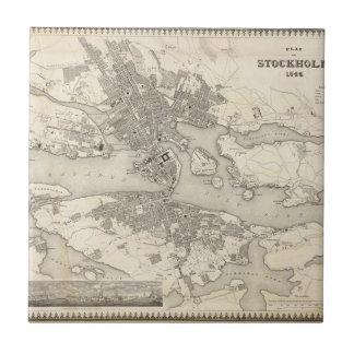 Stockholm, Schweden Kleine Quadratische Fliese