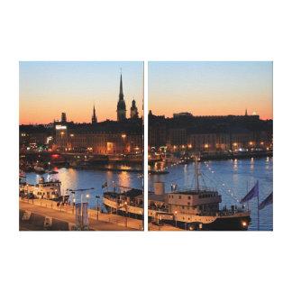 Stockholm Schweden Leinwanddruck