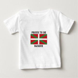 Stolz, baskisch zu sein baby t-shirt