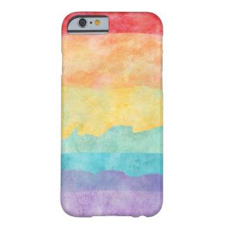 Stolz des Regenbogen-Aquarell-LGBT Barely There iPhone 6 Hülle