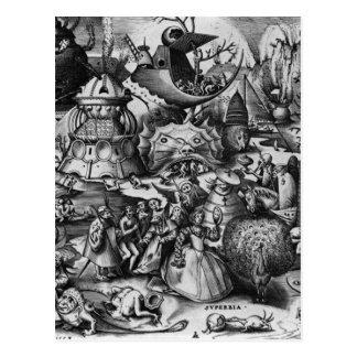 Stolz durch Pieter Bruegel das Älteste Postkarte
