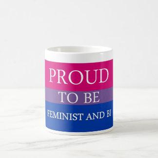 Stolz, feministisch und Bi zu sein Kaffeetasse