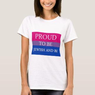 Stolz, jüdisch und Bi zu sein T-Shirt