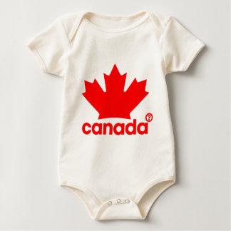 Stolz Kanadier Baby Strampler