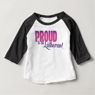 Stolz, lutherisch zu sein - HülseRaglan des Baby T-shirt