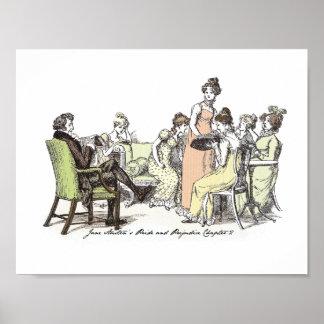Stolz u. Vorurteil - Bennet-Familie Poster