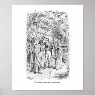 Stolz-und Vorurteil-Jane Austen-Damen-Wand-Kunst Poster