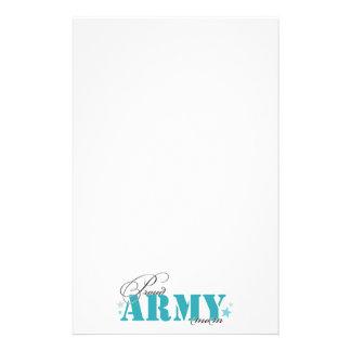 Stolze Armee-Mamma Briefpapier