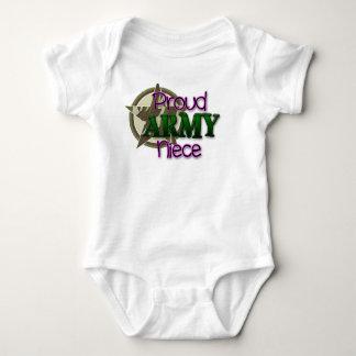 Stolze ARMEE Nichte Baby Strampler