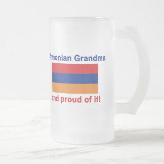Stolze armenische Großmutter Mattglas Bierglas