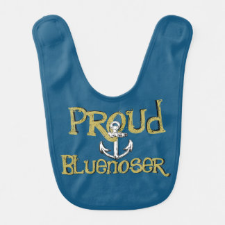 Stolzer Bluenoser Neuschottland Babylätzchen