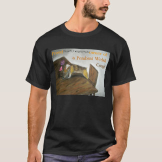 Stolzer Corgi-Inhaber T-Shirt