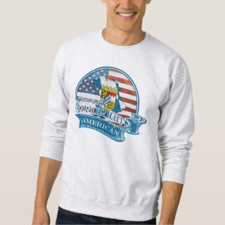 Stolzes bayerisches amerikanisches Sweatshirt
